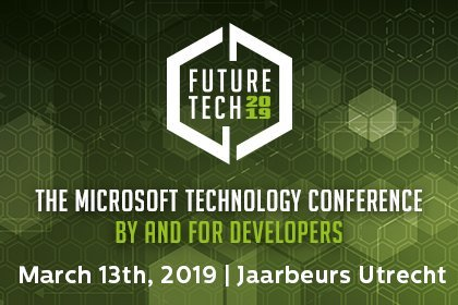 Future Tech 2019: de IT-conferentie voor Microsoft en .NET Technologies